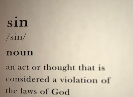 Definition of Sin: 1 John 3:4