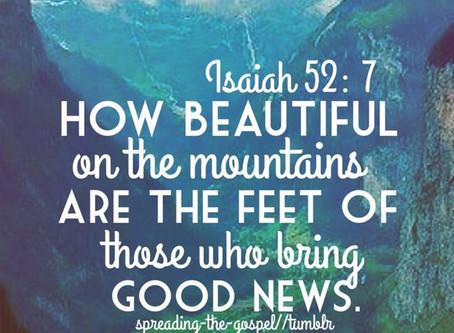 Gospel in the Old Testament: Isaiah 52:7