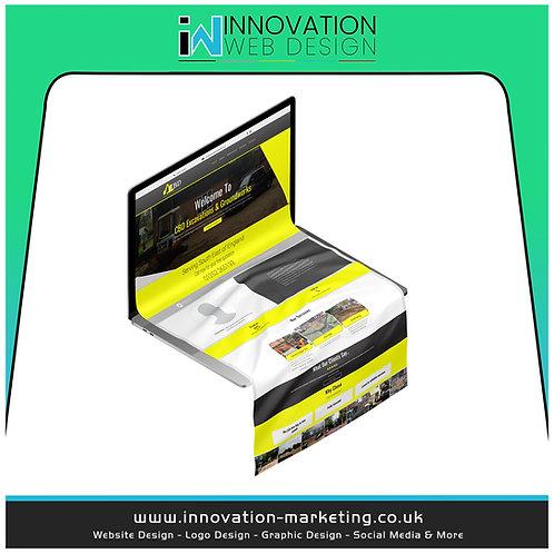 Starter Website 1-3 Pages £279