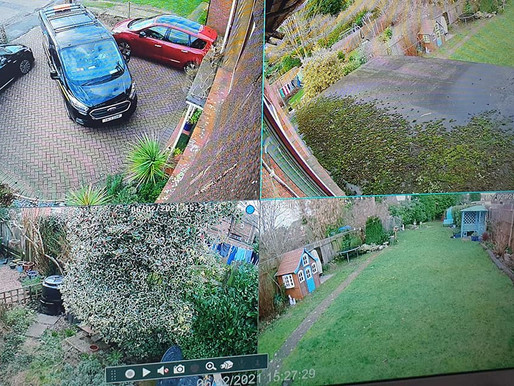 Completed this nice little install of a 4 camera system