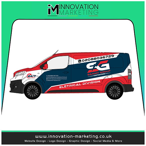 Full Vehicle Wrap Livery Design