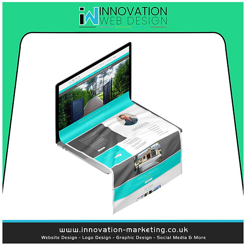 Ultimate Website 8-10 Pages ​£599