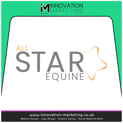 A New stunning logo for All Star Equine