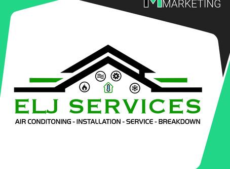 Bespoke logo created for @elj.services ✏️🎨
