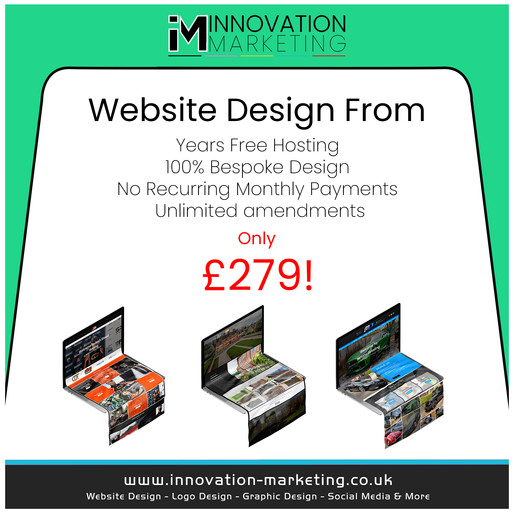 Get your own Professional Website made from just £279❗️