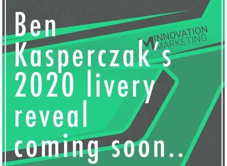 Ben Kasperczak's 2020 Livery