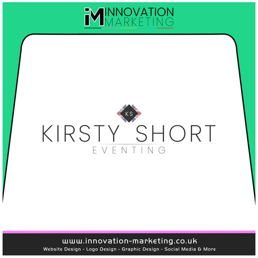 🐎 A stunning but effective logo created for Kirsty Short Eventing 🎨 🇬🇧