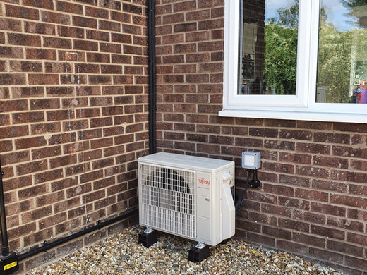 Air Conditioning Unit Installation in Red Lodge, Newmarket, Suffolk