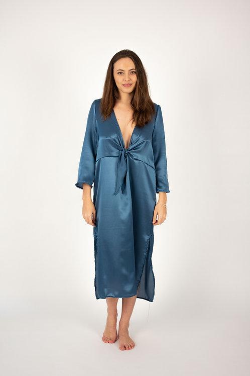Guadalupe blue dress