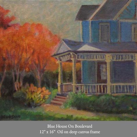 Blue House on Boulevard