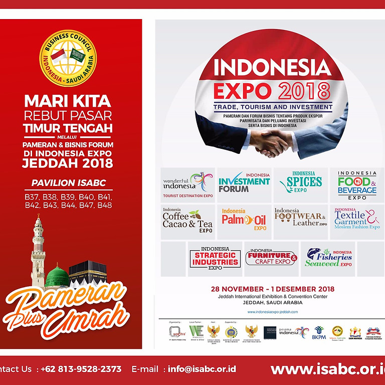 Indonesia Expo Jeddah 2018