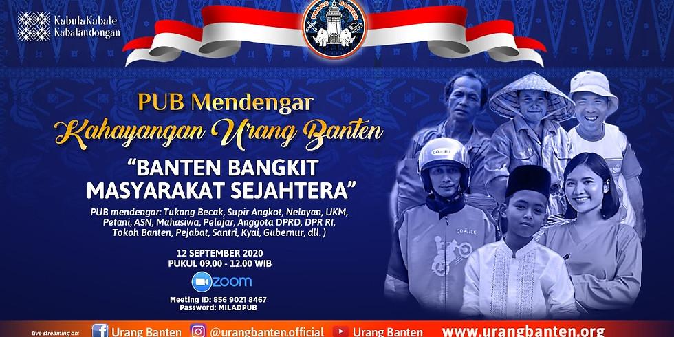 PUB Mendengar Khayangan Urang Banten