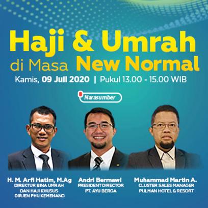 "ISABC Forum Virtual Series #1              ""Haji & Umrah di Masa New Normal"""