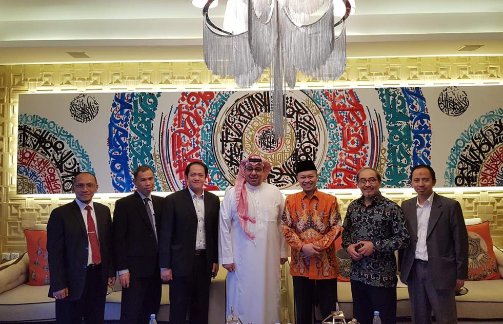 Foto bersama president ISABC dan SAIBC