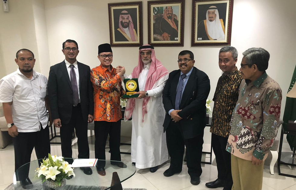 ISABC Work Visit to Sauda Arabia Embassy