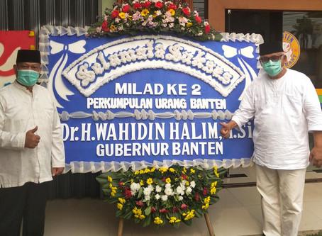 Milad Ke-2 Tahun Perkumupulan Urang Banten (PUB)