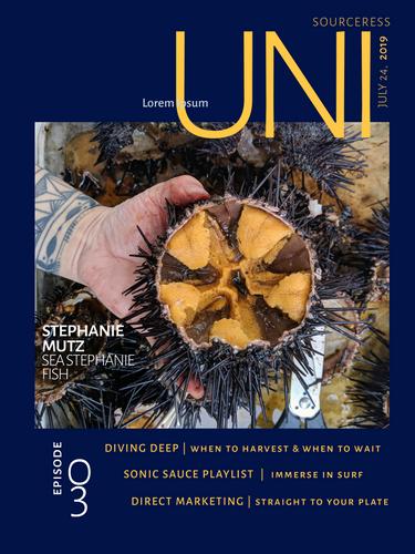 Uni Sourceress Podcast Sea Urchin