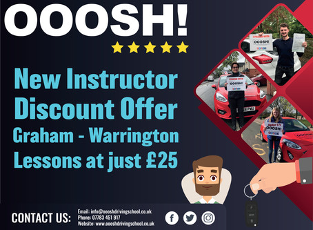 Driving Lessons £25
