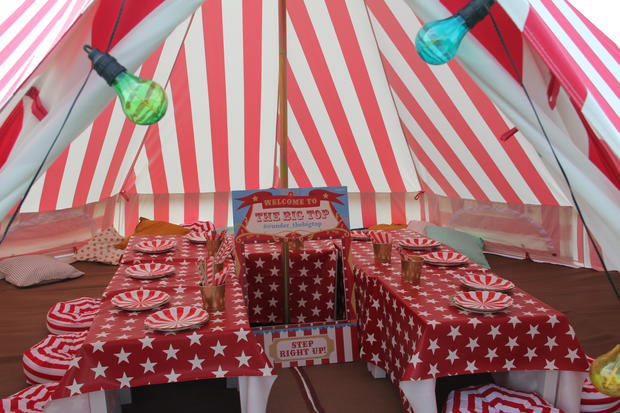 Inside the big top