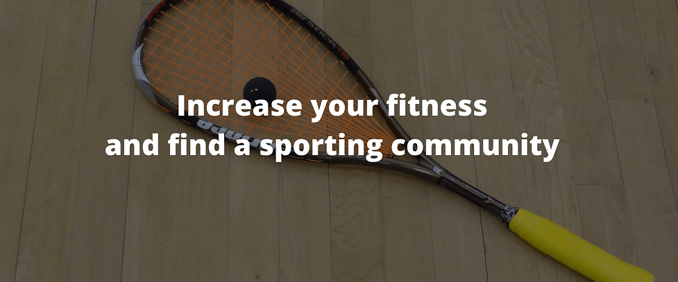Increase your fitness and find a communi
