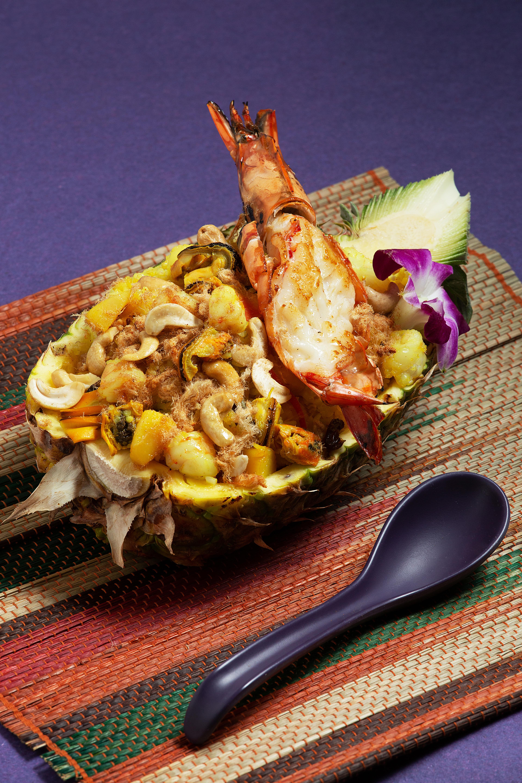 菠蘿肉鬆雞肉炒飯