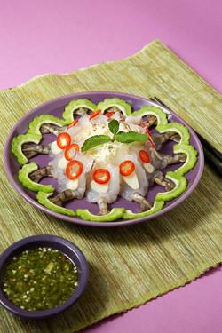 泰式生蝦 Prawn Carpaccio