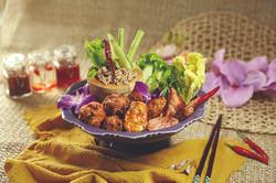 Northeastern Thai Appetizer Platter
