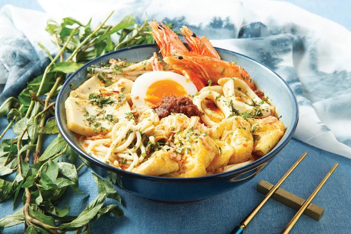 Seafood Laksa Lemak