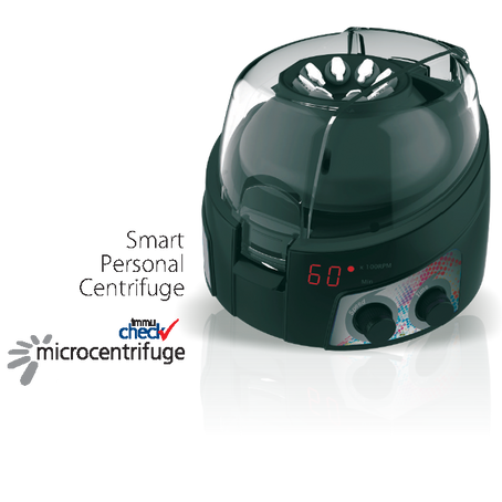 Smart Personal Centrifuge