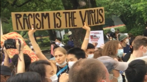 Racism is the virus