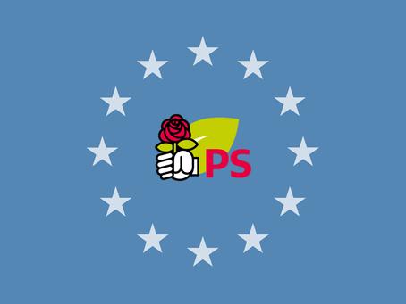 Le Parti Socialiste français en Belgique : Pour une Europe basée sur la solidarité, les droits humai