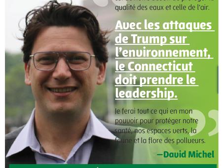 Élections des Mid-terms aux États-Unis d'Amérique: La FFE PS salue la victoire de David Michel