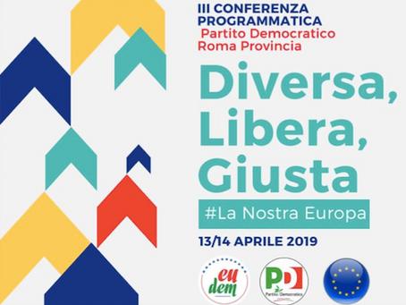 PD Europe à Rome les 13 et 14 avril