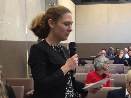 Discours de Cécilia Gondard, Présidente de la commission des Finances, du Budget et de la Fiscalité
