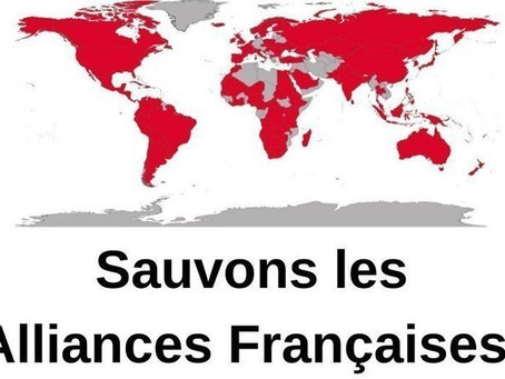 Sauvons les Alliances Françaises !