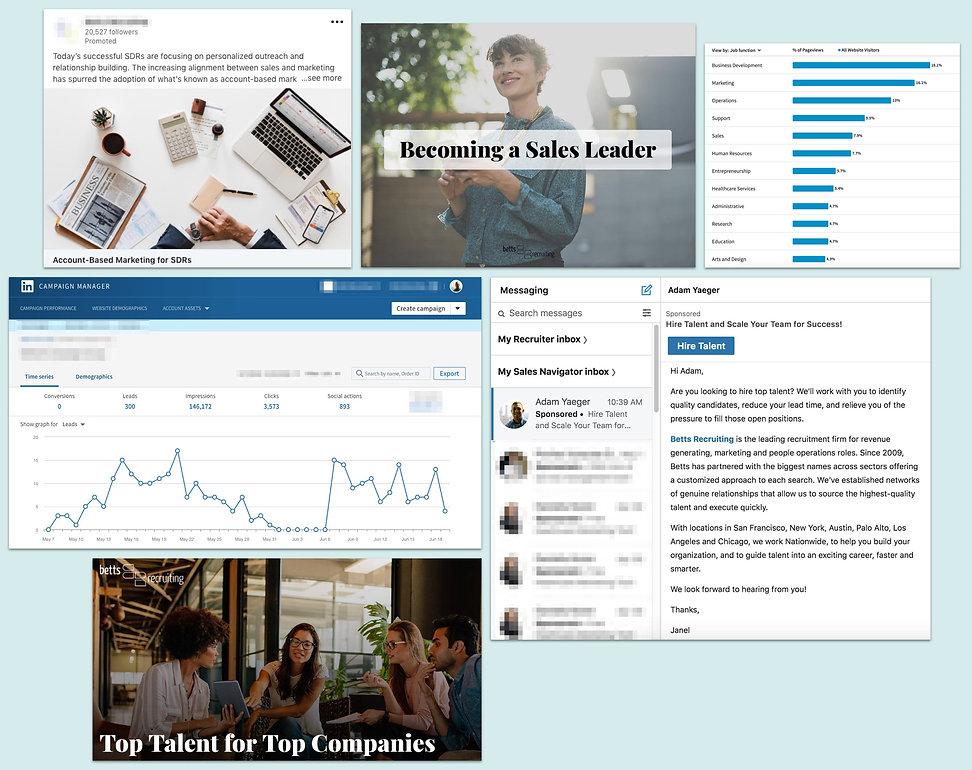 Linkedin Ads for HR Lead Generation Screenshots