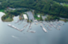 Seven Points Marina aerial view