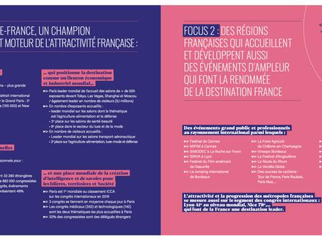 La France 3e destination leader sur les salons & congrès
