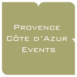 Provence cote d'Azur events