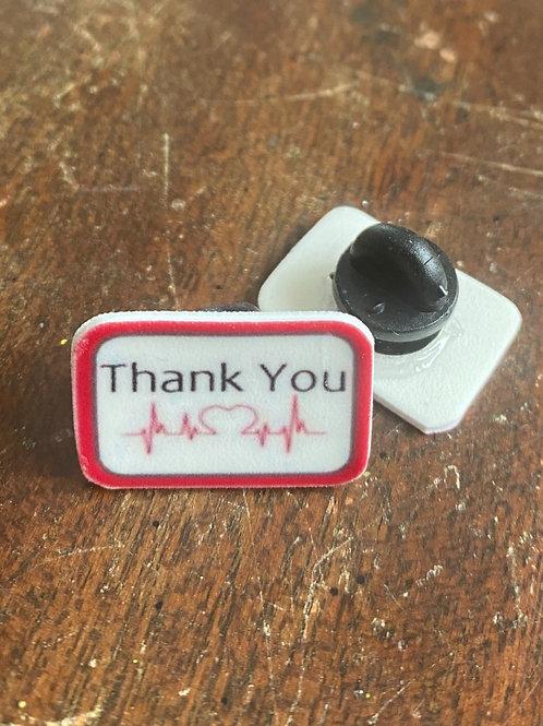 Medical Thank You Pins