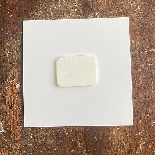 "Custom 2.5"" x 2.5"" card with custom pin"