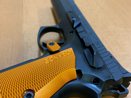 CZ 75 TAC SPORT ORANGE