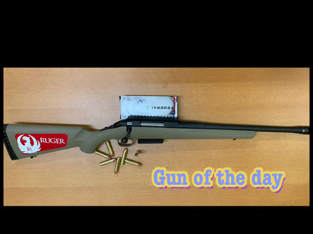 NORTH SHOP GUN OF THE DAY!