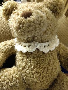 Lace Collar for teddy bear