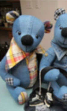 denim teddy bear project