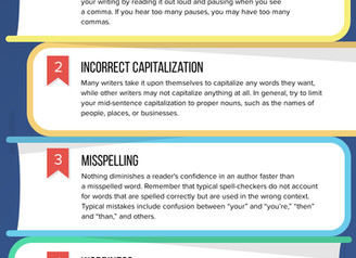 Five Common Writing Mistakes