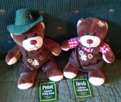Heidi and Peter Oktobear Fest bears