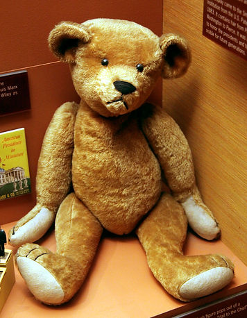 Teddy bear from 1900s