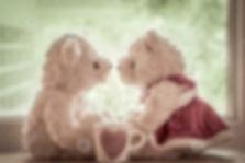 two bears val day heart mug wallpaper.jp