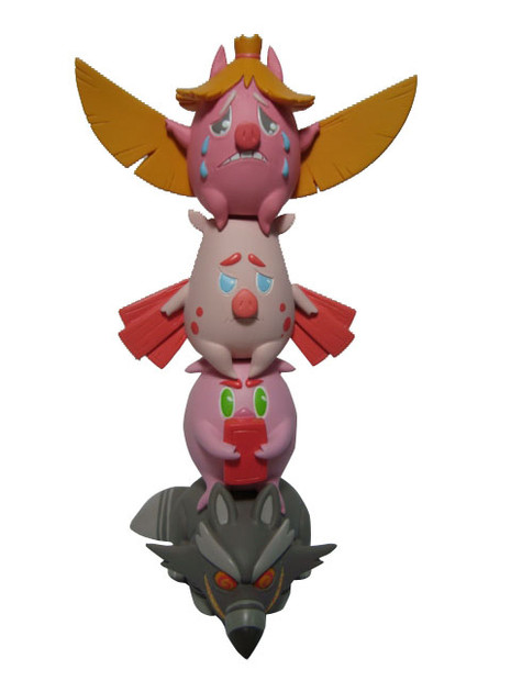 Three Pigs and Bad Wol